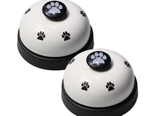 Vimov   Dog Communicating Bell   2pcs   White Black
