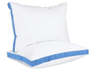 Utopia bedding  Goose down alternative  Gusset Pillow  Blue