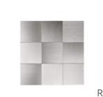 Art 3d  Aluminum Composite Tiles  10 pieces  Sizes 11 8  w 11 8   l  EVA foam tape