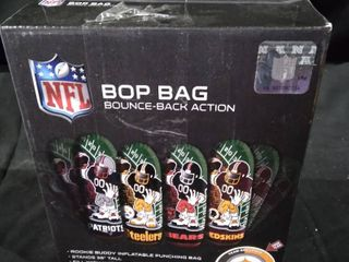 NFl Bop bag bounce back actions stance 36 in tall filled with water for bounce back action 1bop bag