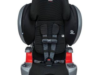 Britax Grow With You ClickTight Plus Harness 2 Booster Car Seat 3 layer Impact Protection 25 to 120 Pounds  Jet Safewash