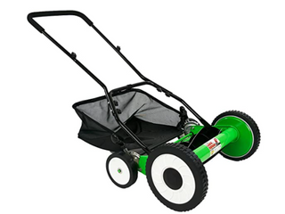 DuroStar DS1600lD 16 Inch 5 Blade Height Adjusting Push Reel lawn Mower