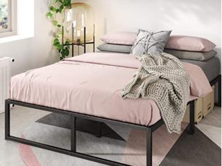 Zinus lorelai 14 Inch Metal Platform Bed Frame   Steel Slat Support   No Box Springs
