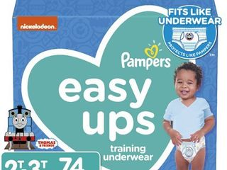 Pampers Easy Up Thomas   Friends Training Pants Super Pack   Size 2T 3T  80ct   Boys
