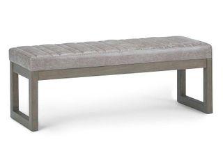 Simpli Home Casey Ottoman Bench