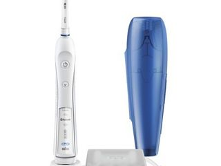 Oral B 5000 SmartSeries Electric Toothbrush  White  Powered by Braun
