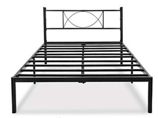 HAAGEEP Item   HYB 001F 14  Platform Steel Bed Frame Full