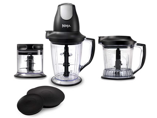 Ninja Master Prep Professional Blender  Chopper  Ice Crusher and Food  qb1004  Size  325