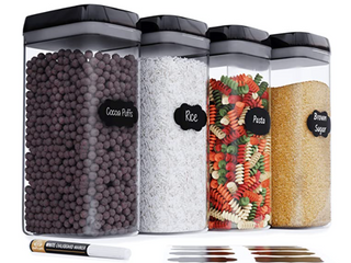 Food Storage Container Set   Set of Four   3 2l