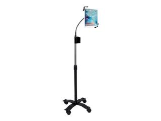 CTA Digital PAD CGS Compact Gooseneck Floor Stand for iPad Tablet