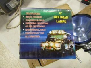 2 Performance Off Road lamps