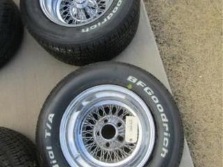 2 BF Radial T A Tires   Wheels