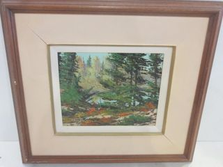 OIl ON BOARD SIGNED lOWER lEFT BOWMAN