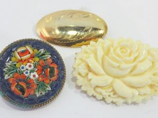 COSTUME BROOCHES  3