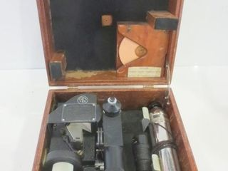 MARINE BUBBlE SEXTANT   VINTAGE IN BOX