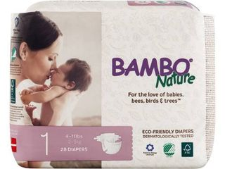 Bambo Nature Premium Baby Diapers   Size 4   180 Pack