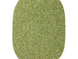 Bayleaf Oval Rhody Rug Sandi Indoor Outdoor Braided Rug