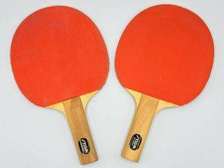 2  Stiga Ping Pong Paddles