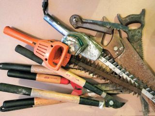 large Household Outdoor lawn   Garden lot   Pruning Shears loppers  Folding Camping Saw  Hedge Trimmers