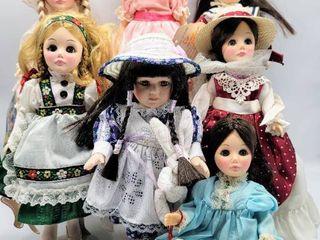 7  Vintage Effanbee Dolls   GiGi  Gretel   more