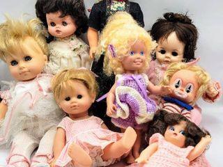8  Vintage Dolls   1965 Soft Body Madame Alexander  Rozetta Doll Amsterdam  Corolle Doll   more