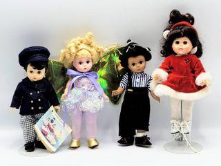 3  Madame Alexander Dolls   little Rascal s Buckwheat  laurie little Men   Butterfly Queen   Vogue Dolls Ice Skater
