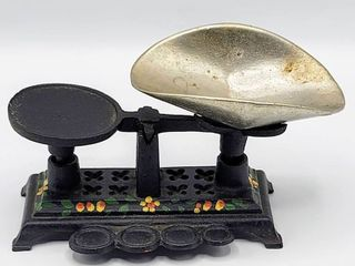 Miniature Cast Iron hand painted Scale