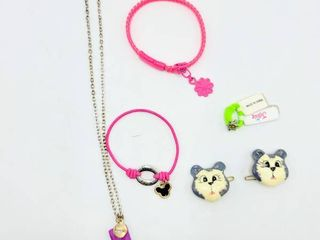 5  Piece lot   Mickey Mouse Ears bracelet that says Have Faith   more