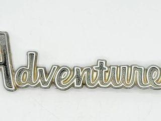 Vintage 1970 s Dodge Truck Adventurer Emblem