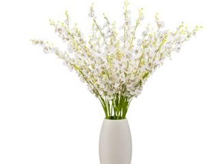 White Flowers Decor 2 set