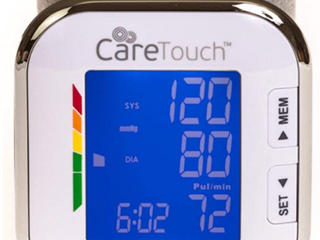 CareTouch   Fully Automatic Wrist Blood Pressure Monitor