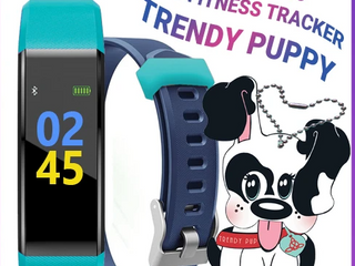Trendy Pro   Kids Fitness Tracker   Black