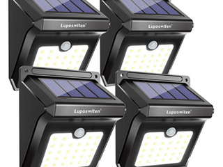 luposwiten   Solar Motion Sensor light   lED   Set of Four