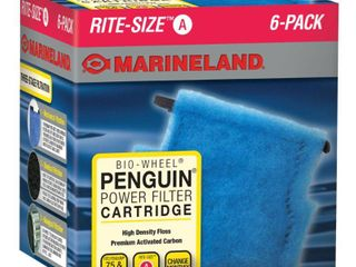 Marineland Rite Size Cartridge A  6 Pack