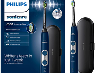 Phillips Sonicare 6100 Rechargeable Electric Toothbrush Navy