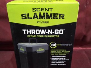 Scent Slammer By HME Throw N Go Ozone Odor Eliminator