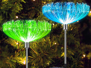 Neporal Set Of 2 Solar Garden lights