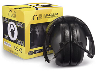 PRO FOR SHO Maximum Hearing Protection Safety Ear Muffs