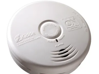 KIDDE FIREX  Carbon monoxide alarm battery   SMART 2 1 Voice alarm  fewer callback front loading batteries