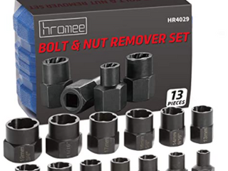 Hromee  Bolt   Nut Remover Set  HR4029  13 Pieces