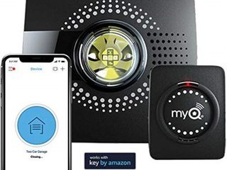 myq smart garage door opener chamberlain myq g0301   wireless   wi fi enabled garage hub with smartphone control