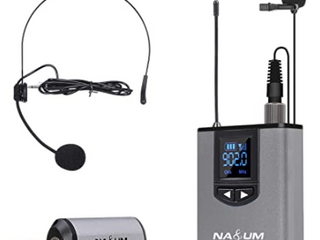 Na UM Productions  Wireless Headset lavalier Microphone