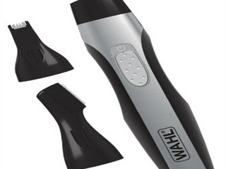 Wahl lithium lighted Men s Detail Trimmer with 3 Interchangeable Trimmer Heads   5546 400