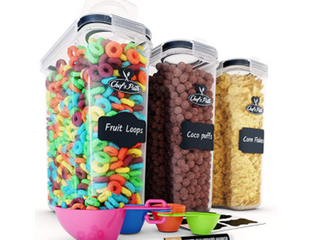 Chef s Path Cereal Storage Containers Set Of 3