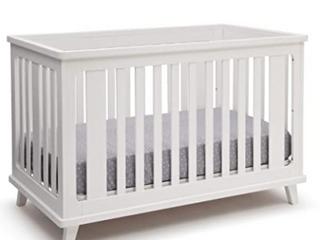 Delta Children Ava 3-in-1 Crib - White