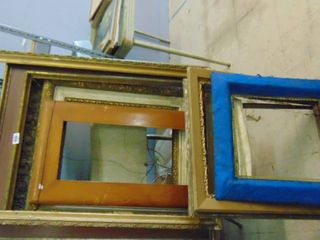 Assorted wood frames