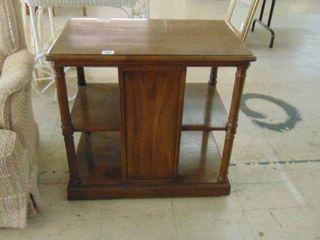 side table   mini bookcase