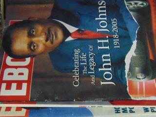 lot of Ebony magazines