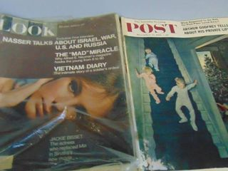 lot of Post and Nature magazines