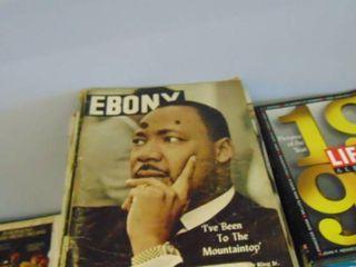 large lot of Ebony and Everybody magazines
